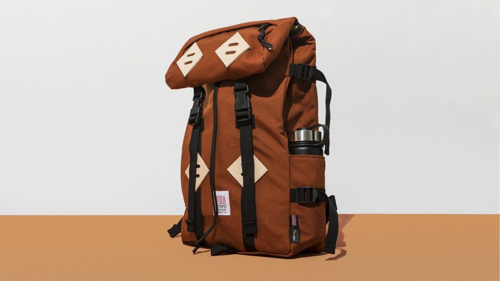 An all purpose backpack is a must have for any vacationer