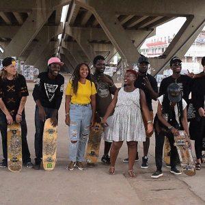 Members of Skate Nation GH
