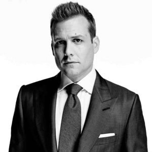 Gabriel Macht in suit
