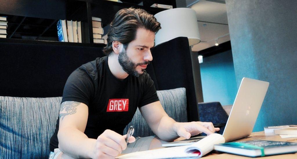 Adi Redzic founder of Think Change