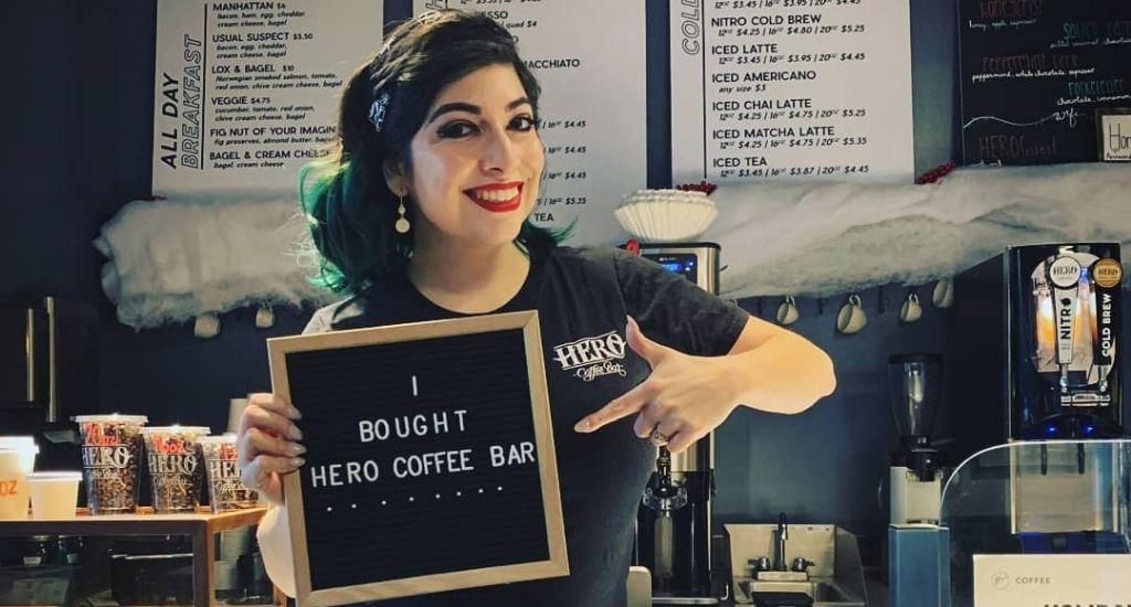 Michelle Martinez, owner of Hero Coffee Bar Chicago