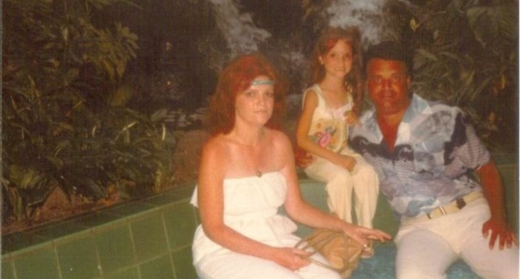 Laura with her parents Sandy and Rich in Disney World. Photo courtesy of Laura Orrico Public Relations