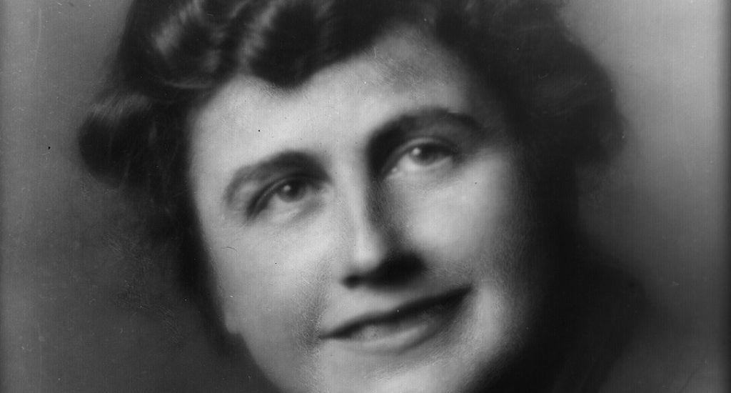 Edith Wilson, wife of U.S. President Woodrow Wilson
