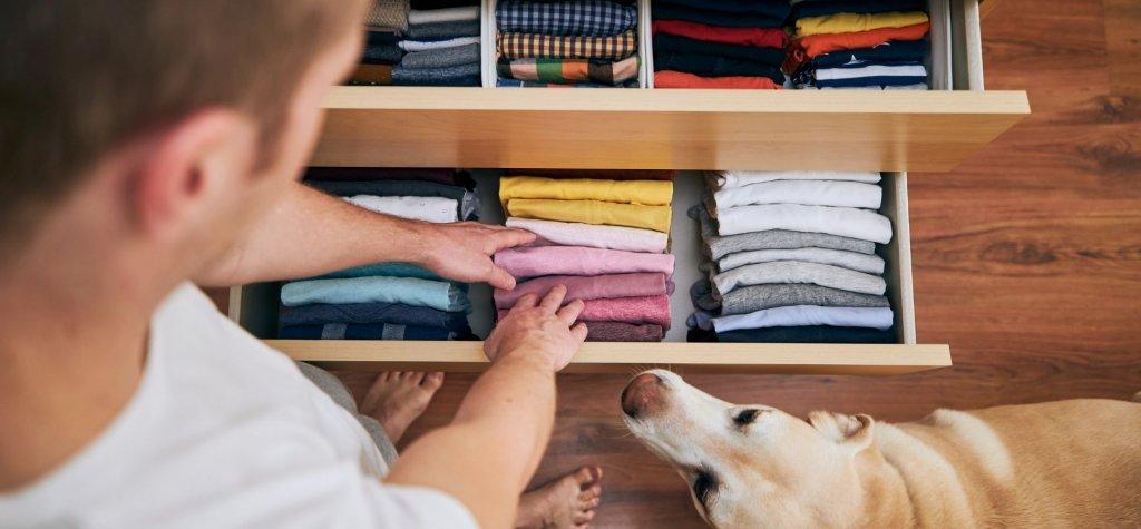 Underwear In a dresser
