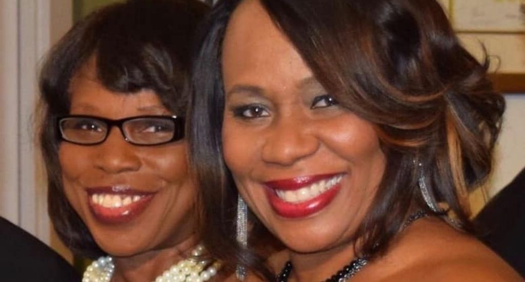 Victoria Christopher Murray (left) and ReShonda Billingsley (right) cofounders of Brown Girls Books